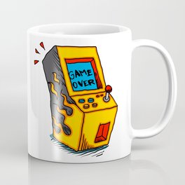 Vintage Arcade game Machine Coffee Mug