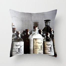 Medicine Man Throw Pillow
