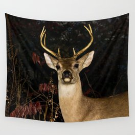 Whitetail Deer Wall Tapestry