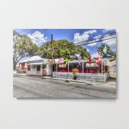 Coffy's Barbados Bar Metal Print