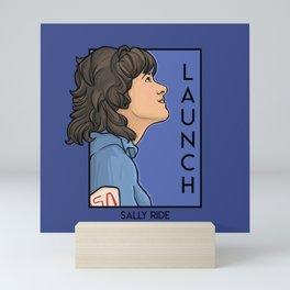 Launch Mini Art Print