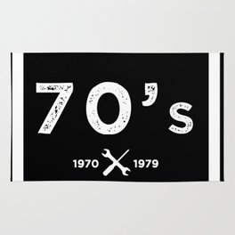 Born in the 70's. Certified Awesome Rug