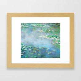 Monet Water Lilies / Nymphéas 1906 Framed Art Print