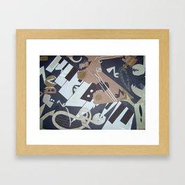 Key Craze Framed Art Print