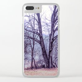 Landscape at Old Kennett Meetinghouse Clear iPhone Case