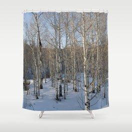 Colorado Tress Shower Curtain