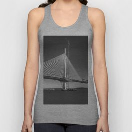 Queensferry Crossing Under Construction Unisex Tank Top