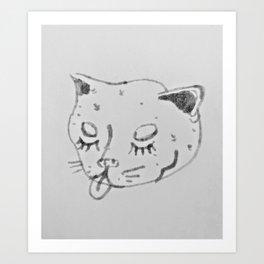 Mlem Art Print