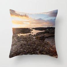 Hawaiian Gold Throw Pillow