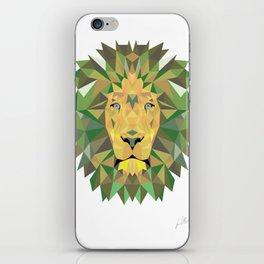 Geomatic Lion  iPhone Skin