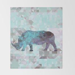 Rhino Throw Blanket