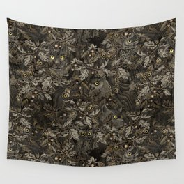 Fit In (autumn night colors) Wall Tapestry