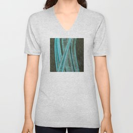No Exit Abstract Design Unisex V-Neck