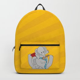 Elphie & dad Backpack