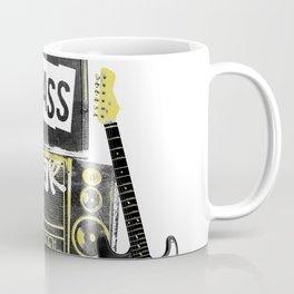 Beats, Bass & Guitar. Coffee Mug