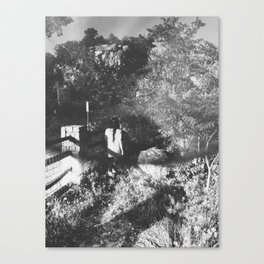 Venture adventure/Outside the gates Canvas Print