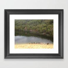 Fraser Island Framed Art Print