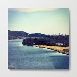 Austin In The Distance Metal Print