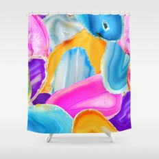 Geode Shower Curtain