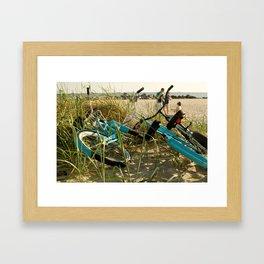 Bicicletas Framed Art Print