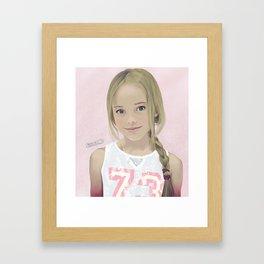 Kristina 73 Framed Art Print