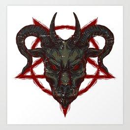 The Pentagram Art Print