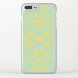 Lace Variation 09 Clear iPhone Case