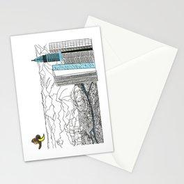 Illustration_ On the road_ Jack Kerouak Stationery Cards