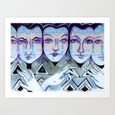 Together We Can Art Print