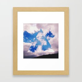 Three-Sided Sky Framed Art Print