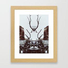: canyon spirit : Framed Art Print