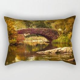 The Gapstow Bridge Rectangular Pillow