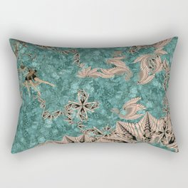 Synchro Fractals Rectangular Pillow