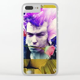 Dead and Famous: Sid Vicious Clear iPhone Case