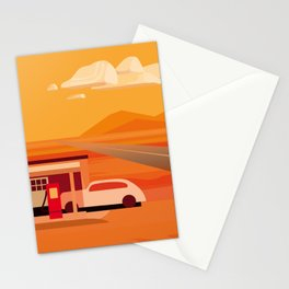 Tonapah Gas Station Stationery Cards