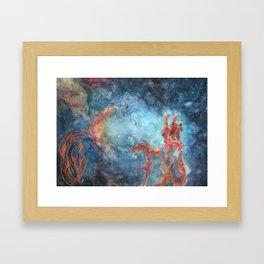 Just Look - Nebula Framed Art Print