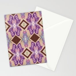 Inorganic materia Stationery Cards