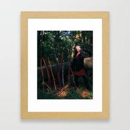 9 of Wands Framed Art Print