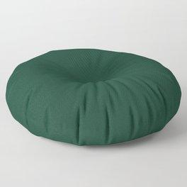 Deep Green Pixel Dust Floor Pillow