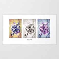 Spring dreams Art Print