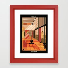 Hepburn Eames Framed Art Print