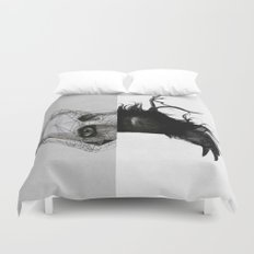 Everything in its right place Duvet Cover