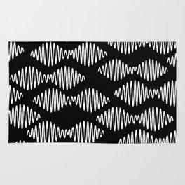 Sound wave pattern Rug