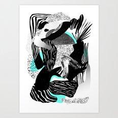 Dazed Art Print
