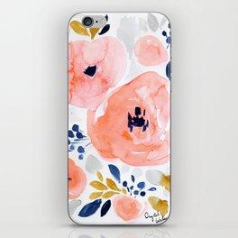 Genevieve Floral iPhone Skin