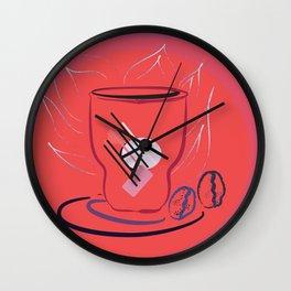 coffee modern Wall Clock