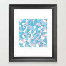 Abstraction Pastel Framed Art Print