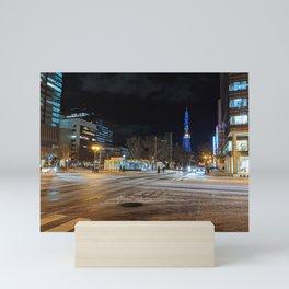 Sapporo, 7:25pm Mini Art Print