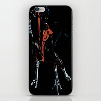 nightcrawler iPhone & iPod Skins featuring Nightcrawler by bernardtime