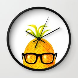 Mr. Pineapple Wall Clock